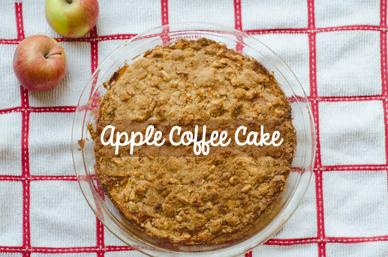 So…Let's Hang Out – Apple Coffee Cake | Gluten Free