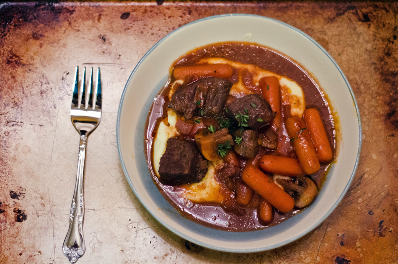 Baked Beef & Red Wine Stew | Soletshangout.com