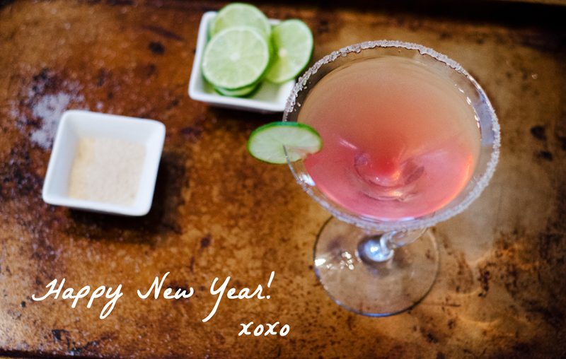 cranberry ginger simple syrup| a new years eve cocktail | soletshangout.com