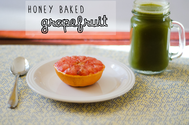 Honey Baked Grapefruit // soletshangout.com
