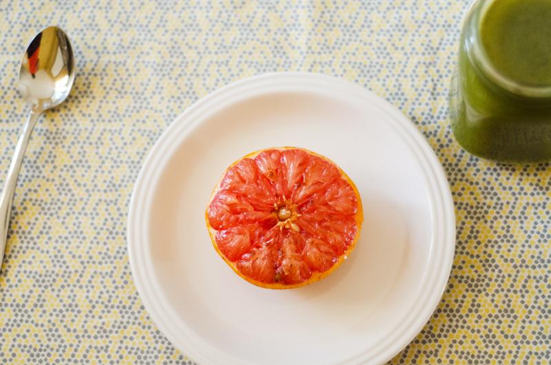 Honey Baked Grapefruit // soletshangout.com