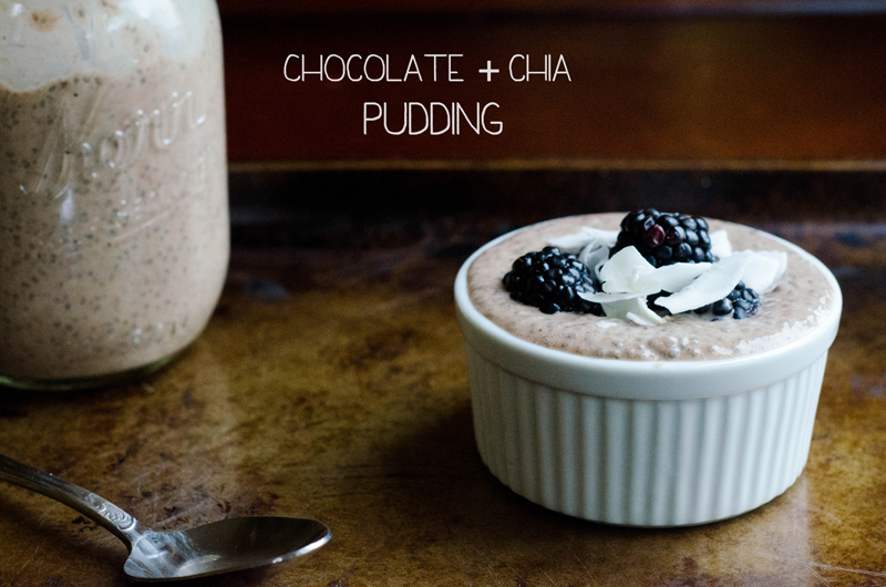 Chocolate & Chia Pudding   So...Let's Hang Out