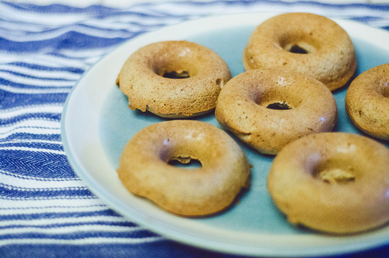 Gluten Free Almond Spiced Donuts With Chocolate & Coconut | Soletshangout.com
