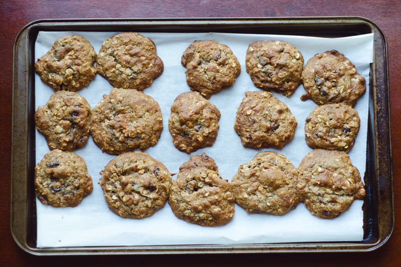 Totally Loaded Oatmeal Cookies | Gluten Free // So...Let's Hang Out