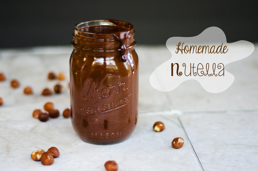 Homemade Nutella | Gluten & Dairy Free | So... Let's Hang Out