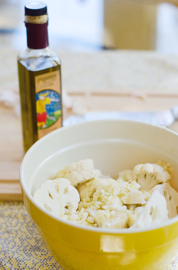 Roasted Cauliflower Salad With Olives And Capers | So... Let's Hang Out