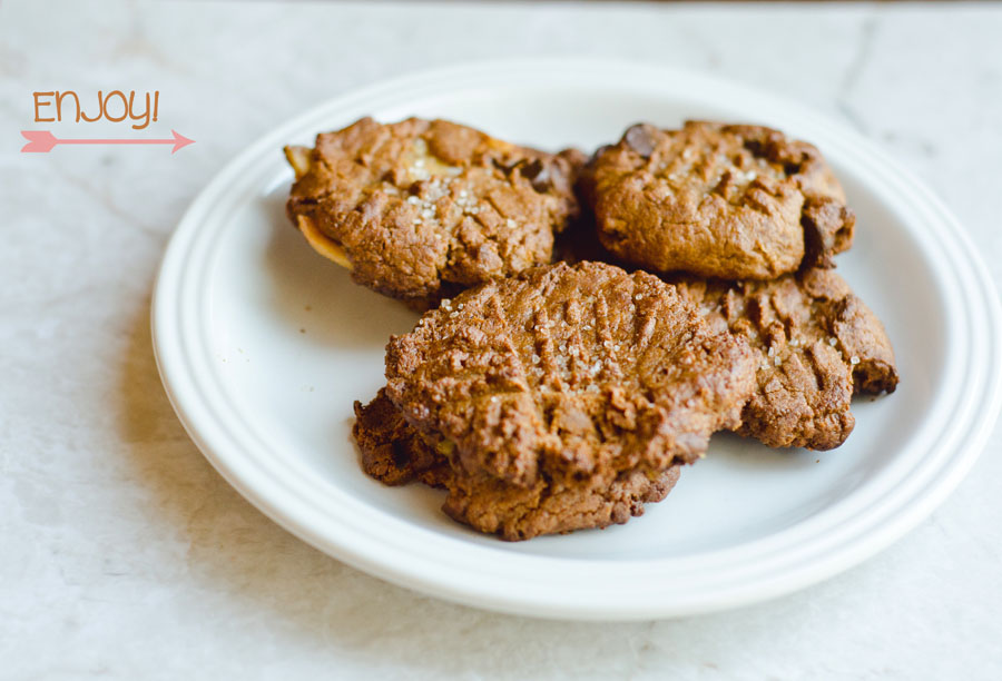 Salted Peanut Butter Cookies | So...Let's Hang Out