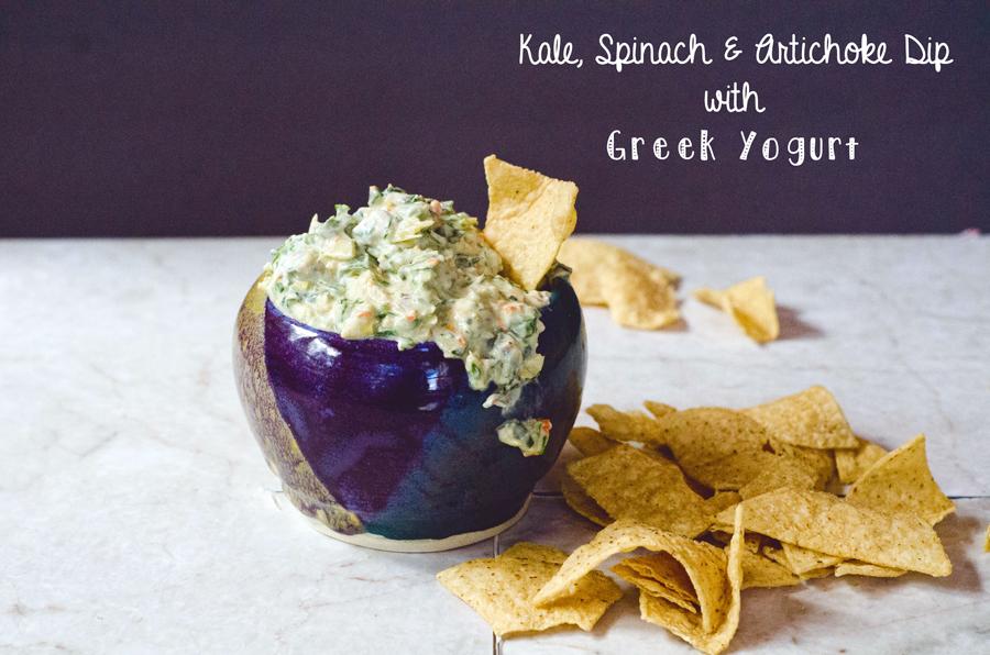 Kale, Spinach & Artichoke Dip With Greek Yogurt   So... Let's Hang Out