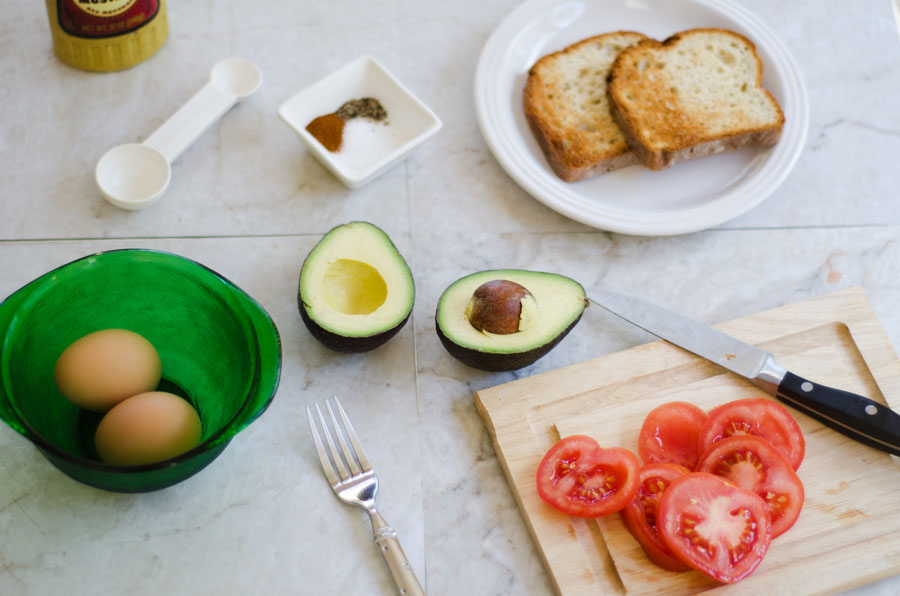 Avocado Egg Salad | So... Let's Hang Out