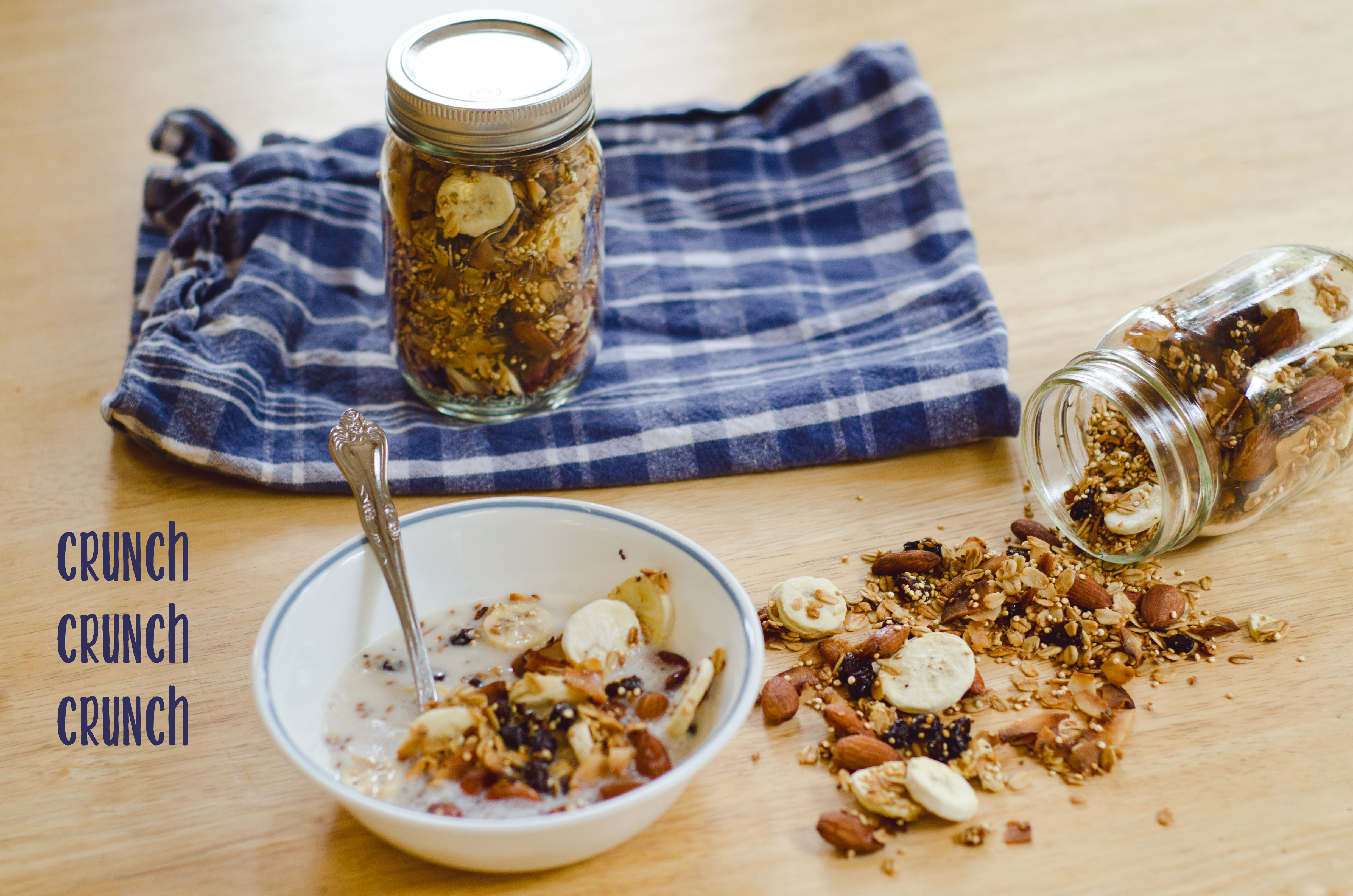 Banana Nut Granola With Quinoa | So...Let's Hang Out