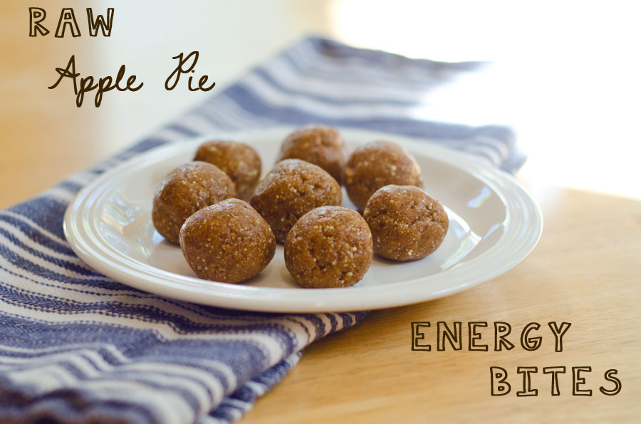 Raw Apple Pie Energy Bites | So...Let's Hang Out