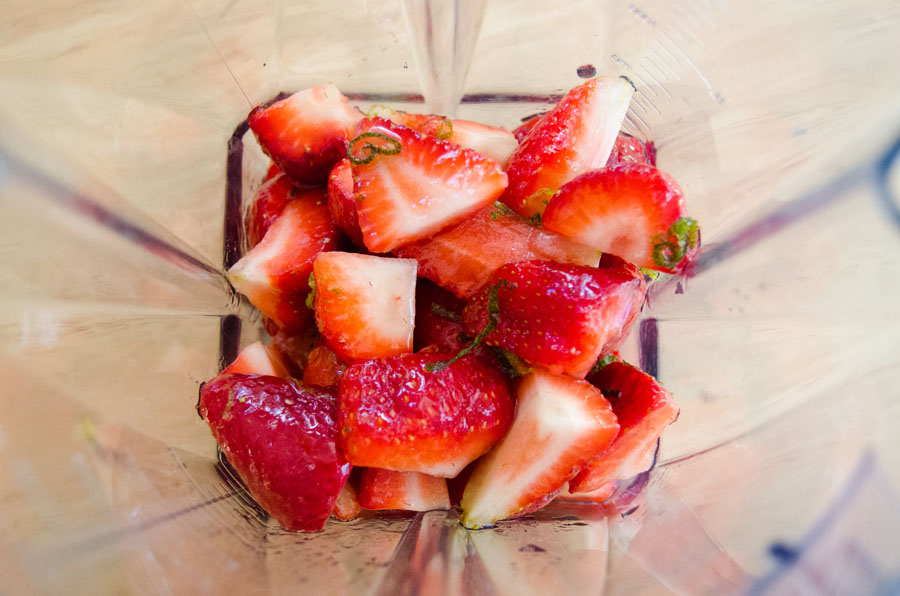 Strawberry, Honey & Lime Spritzer   So...Let's Hang Out