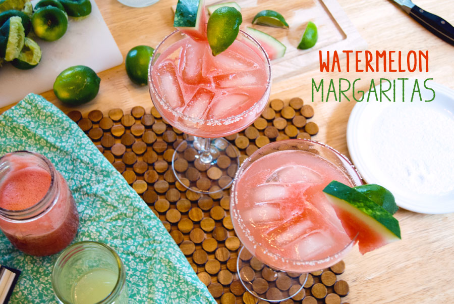 Watermelon Margaritas | So...Let's Hang Out