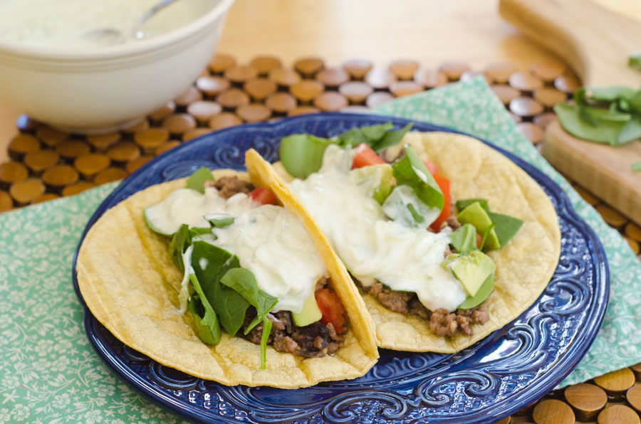 Greek Tacos With Lamb & Tzatziki Sauce | So...Let's Hang Out