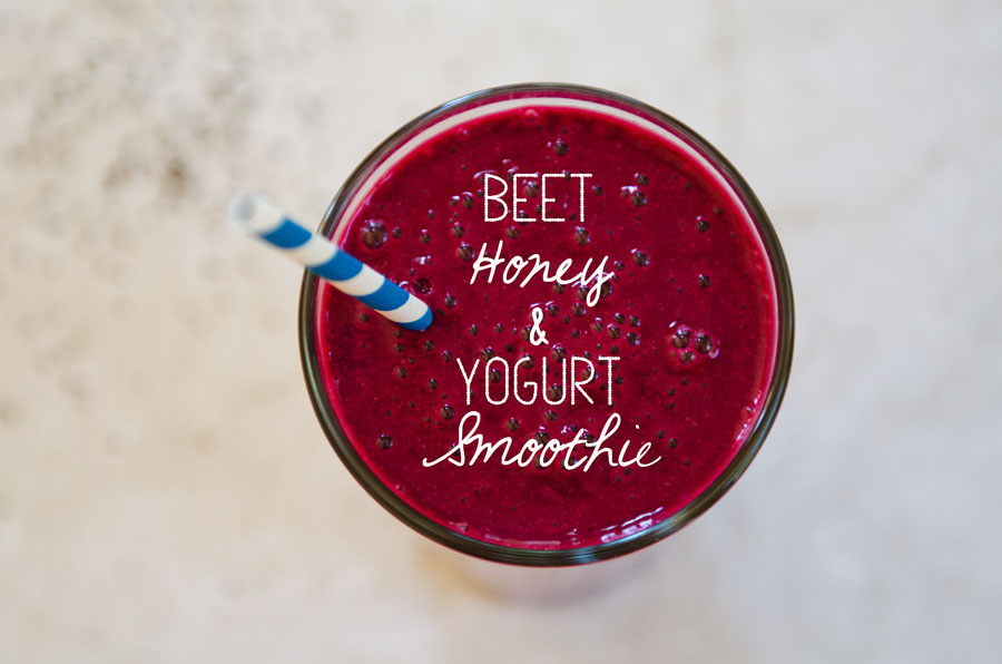 Beet, Honey & Yogurt Smoothie | So...Let's Hang Out