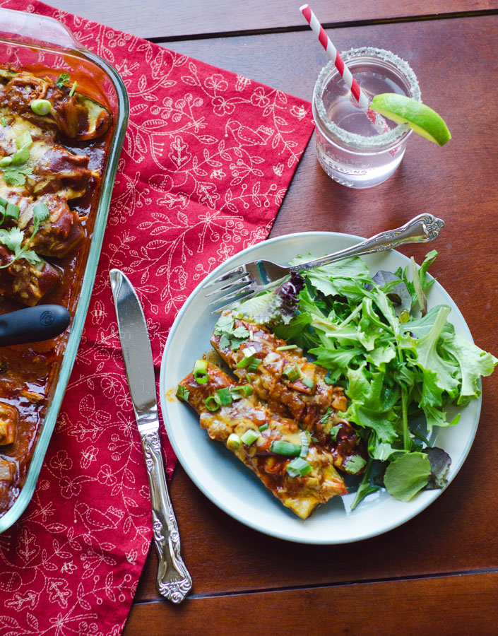 Chicken Enchilada Zucchini Boats | So...Let's Hang Out