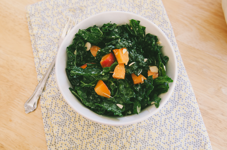 Kale Salad With Apricots & Pecorino | So...Let's Hang Out