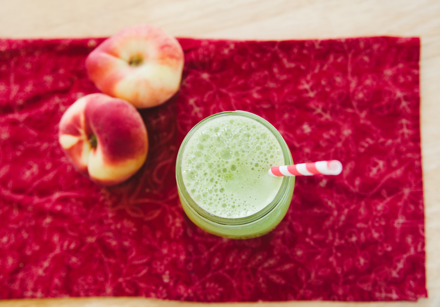 Donut Peach Green Juice | So...Let's Hang Out
