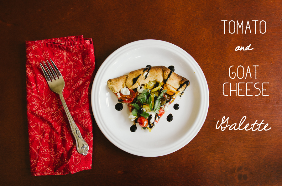 Tomato & Goat Cheese Galette | Gluten Free // So...Let's Hang Out
