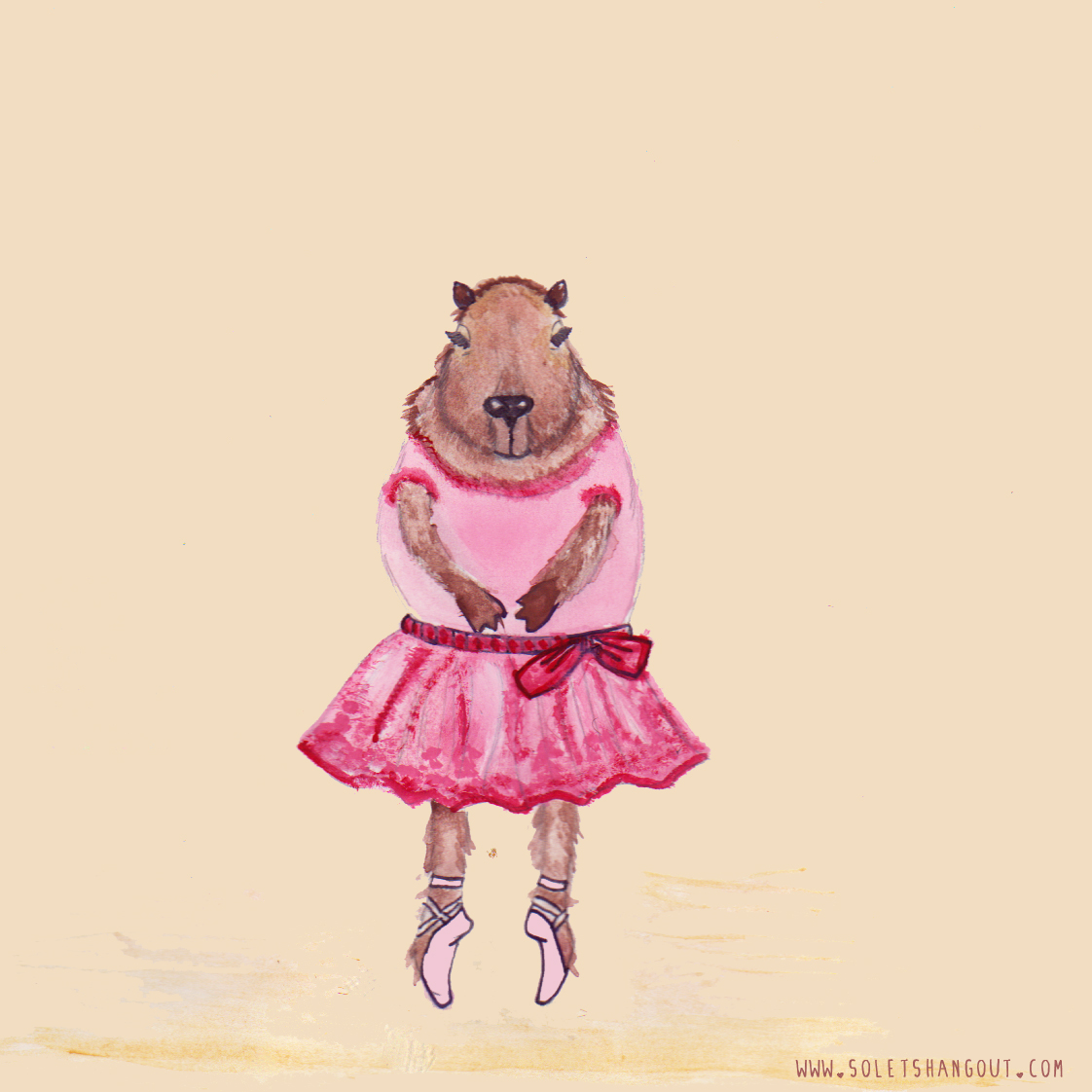 Capybara Ballerina | So...Let's Hang Out
