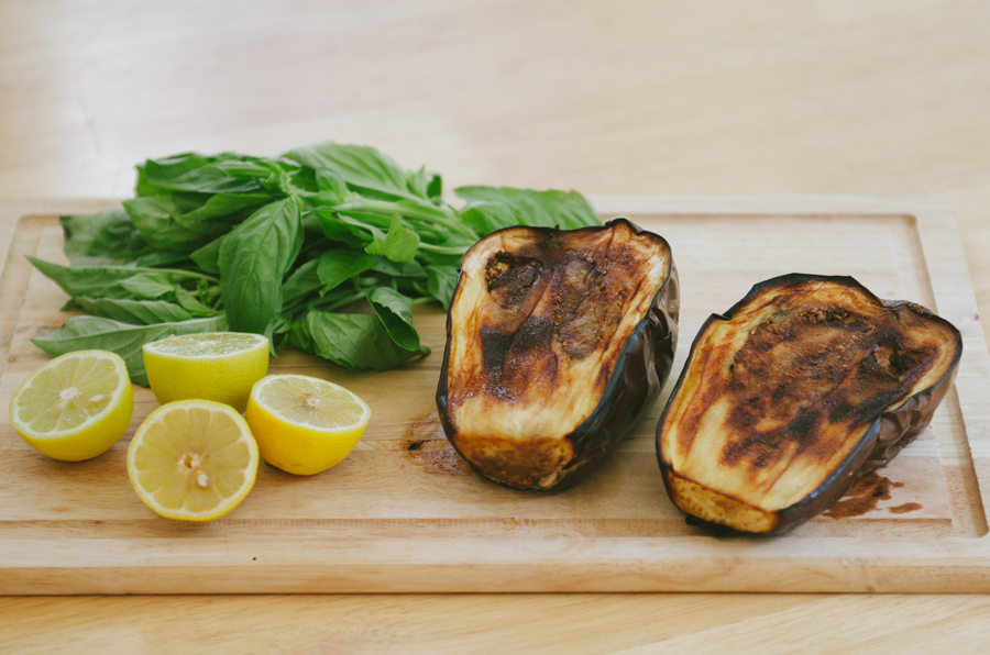 Roasted Eggplant & Basil Spread   So...Let's Hang Out