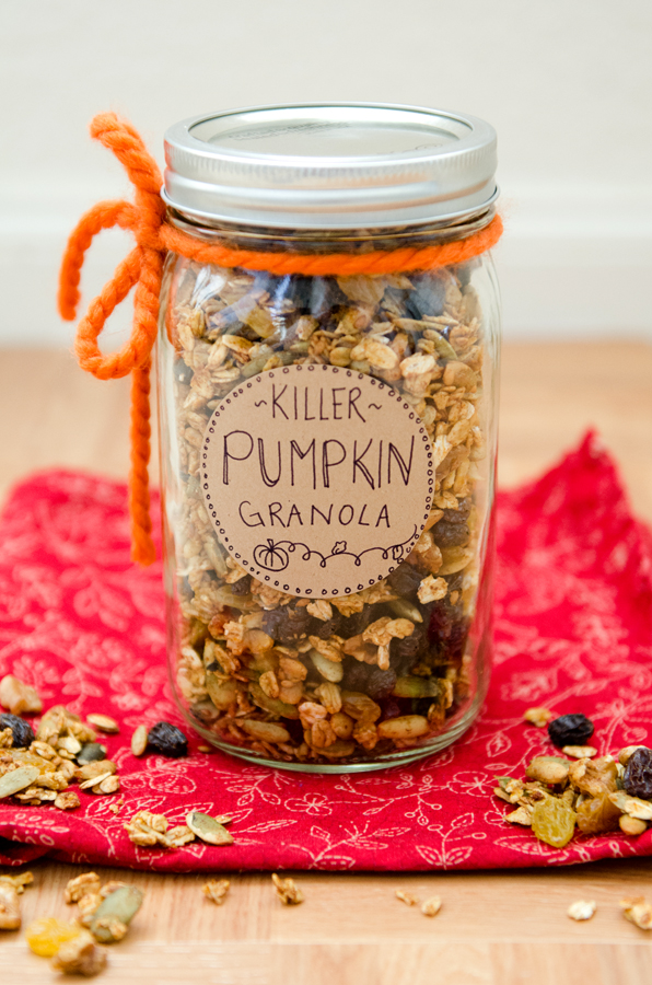 Killer Pumpkin Granola {Gluten-Free & Vegan} | So...Let's Hang Out
