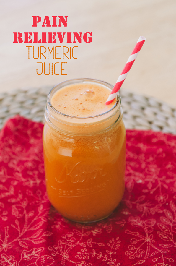 Pain Relieving Turmeric Juice | So...Let's Hang Out