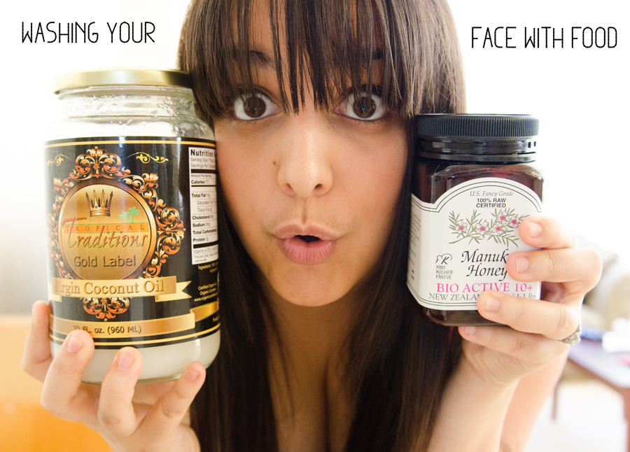 Washing Your Face With Food | So...Let's Hang Out