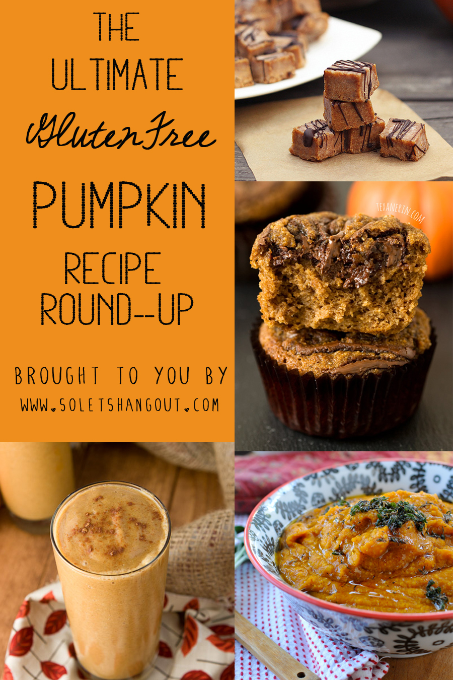 The Ultimate Gluten-Free Pumpkin Recipe Roundup! 50+ Recipes!!