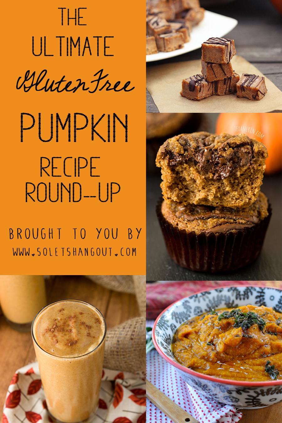 The Ultimate Gluten-Free Pumpkin Recipe Roundup! 50+ Recipes!!