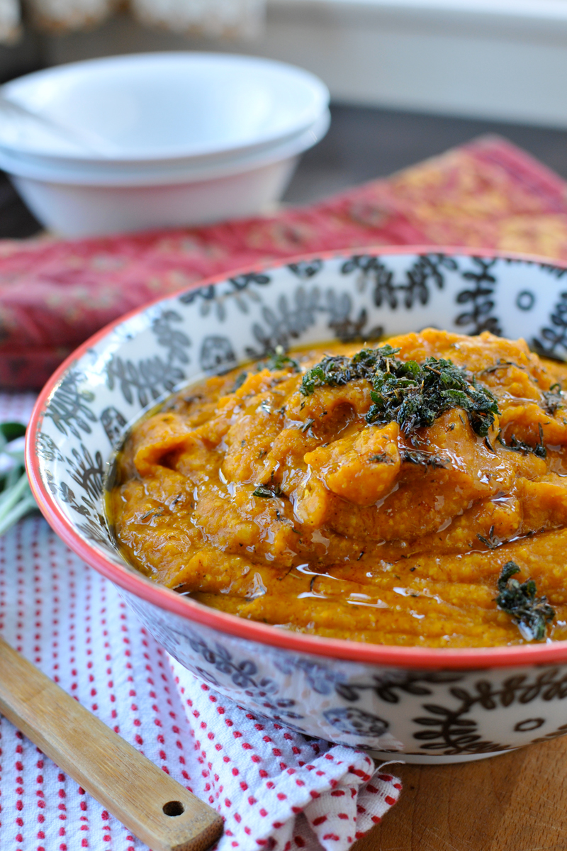 Pumpkin Polenta With Browned Butter & Sage | Guest Post From The Pig ...