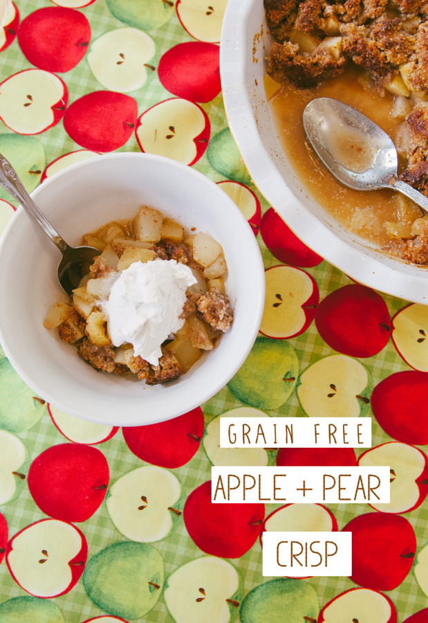 Grain-Free Apple & Pear Crisp | So...Let's Hang Out