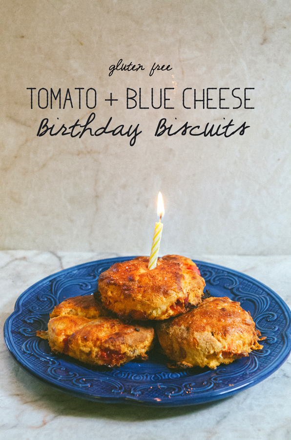 Tomato & Blue Cheese Birthday Biscuits {Gluten-Free} // So...Let's Hang Out