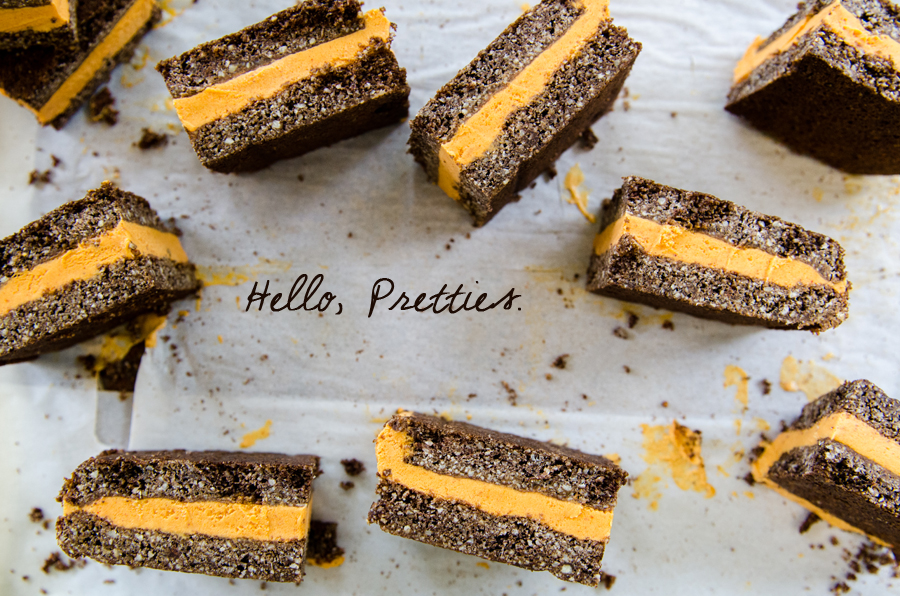 Chocolate Almond Cookie Pumpkin Ice Cream Sandwiches {Gluten-Free, Grain-Free}   So...Let's Hang Out