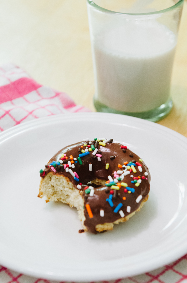 Joy's Baked Brown Butter Donuts With Chocolate Glaze {Gluten-Free} //So...Let's Hang Out
