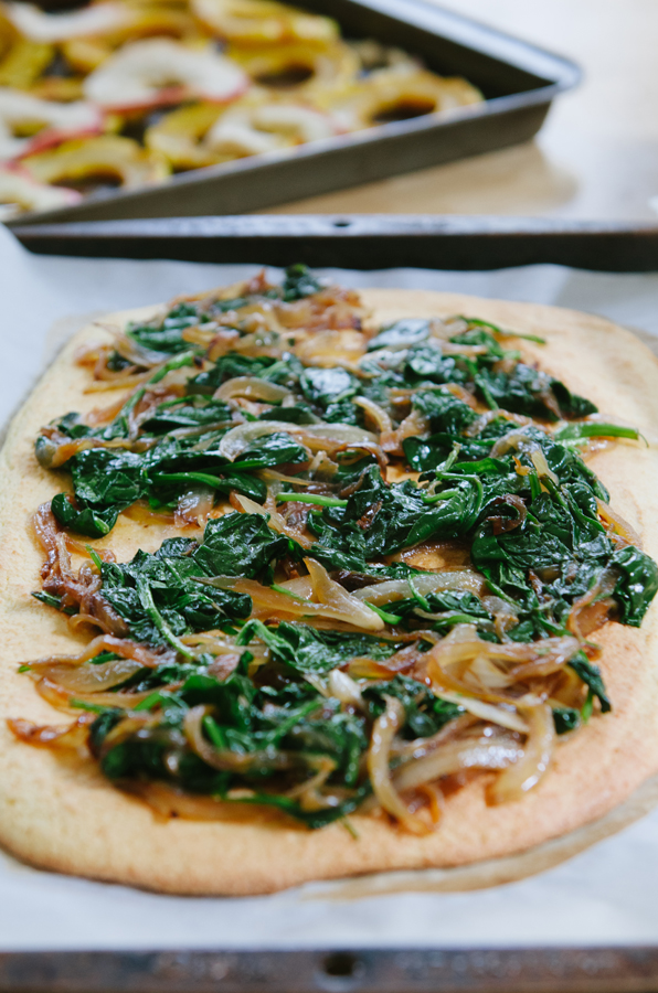 Apple, Delicata & Blue Cheese Flatbread // So...Let's Hang Out