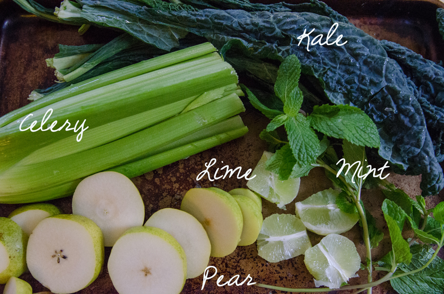 The Minted Pear Green Juice // So...Let's Hang Out