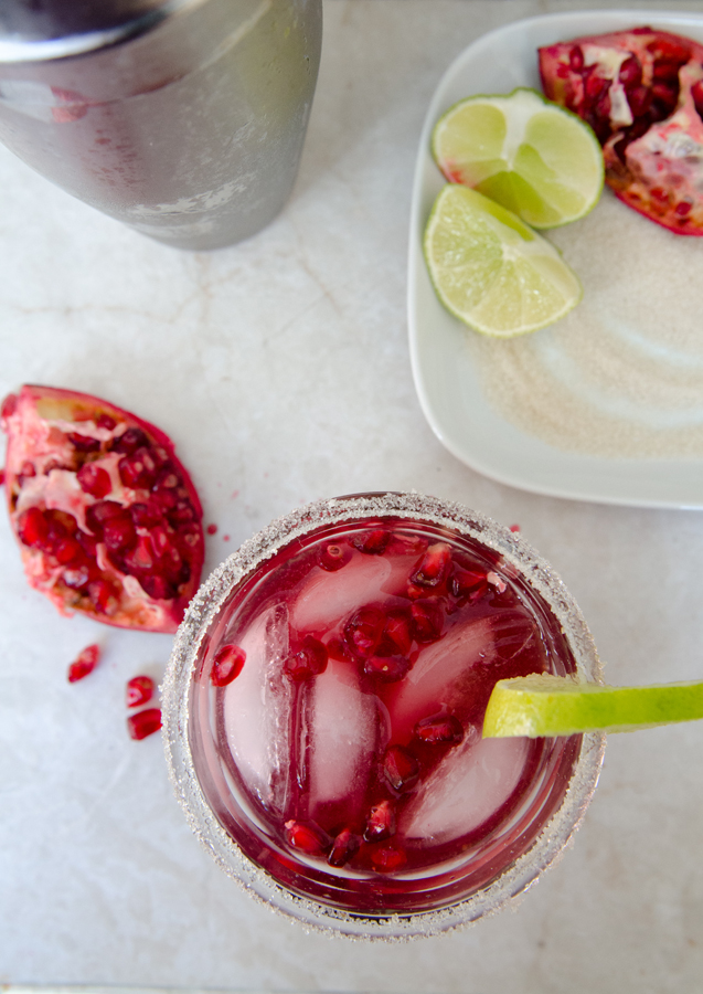 The Pomegranate Margarita | So...Let's Hang Out