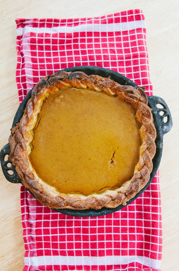 Gluten-Free Pumpkin Pie With Dairy-Free Filling // So...Let's Hang Out
