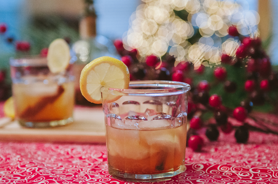 Cinnamon Maple Bourbon Sour | soletshangout.com