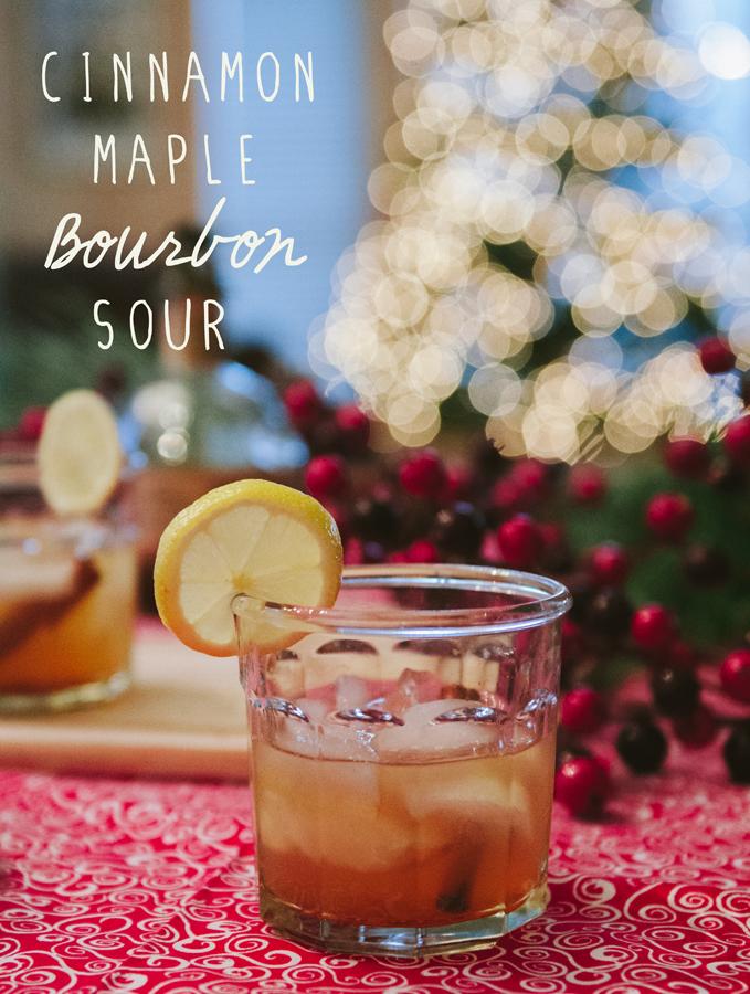 Cinnamon Maple Bourbon Sour   soletshangout.com