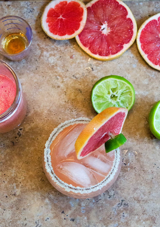 Jalapeño & Grapefruit Margaritas \\ soletshangout.com