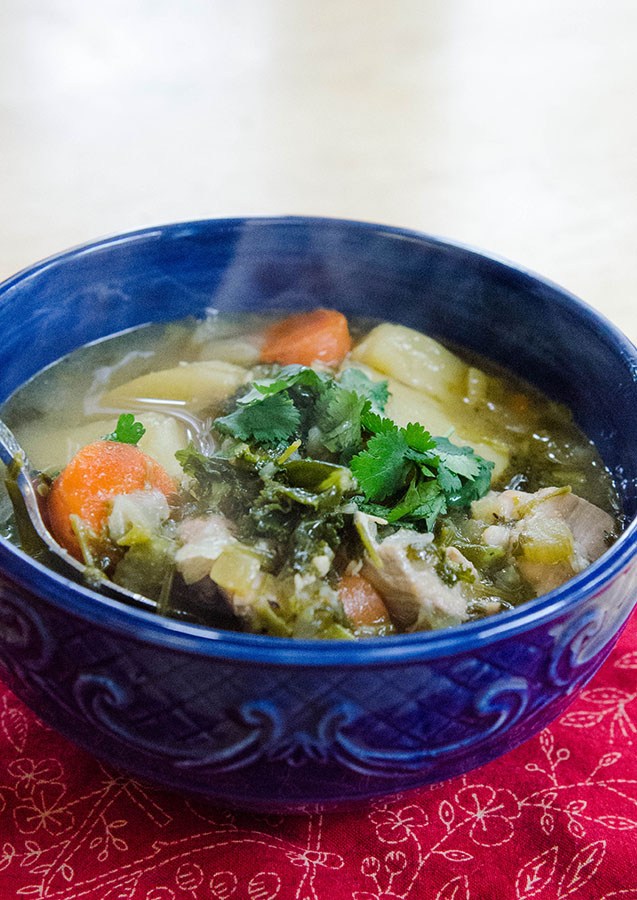 Mom's SUPER HEALING Chicken Stew | Soletshangout.com