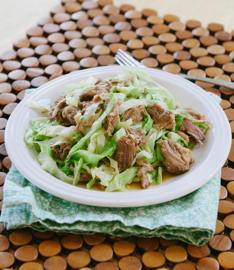 Totally Easy Slow-Cooker Kalua Pork // soletshangout.com