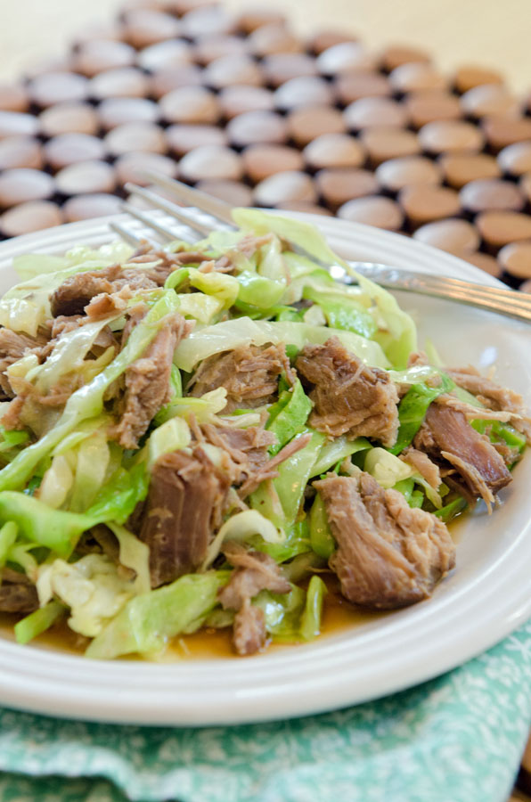 Totally Easy Slow-Cooker Kalua Pork // soletshangout.com
