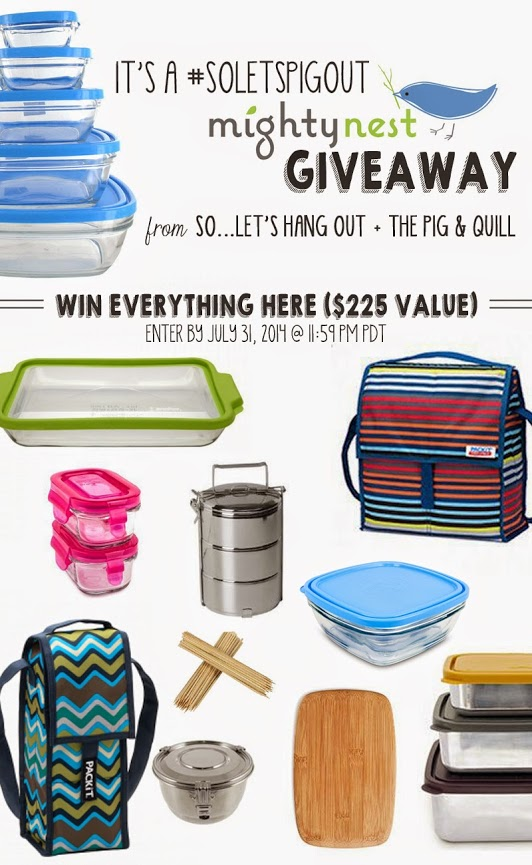 WIN $225 OF PRODUCT FROM MIGHTY NEST!