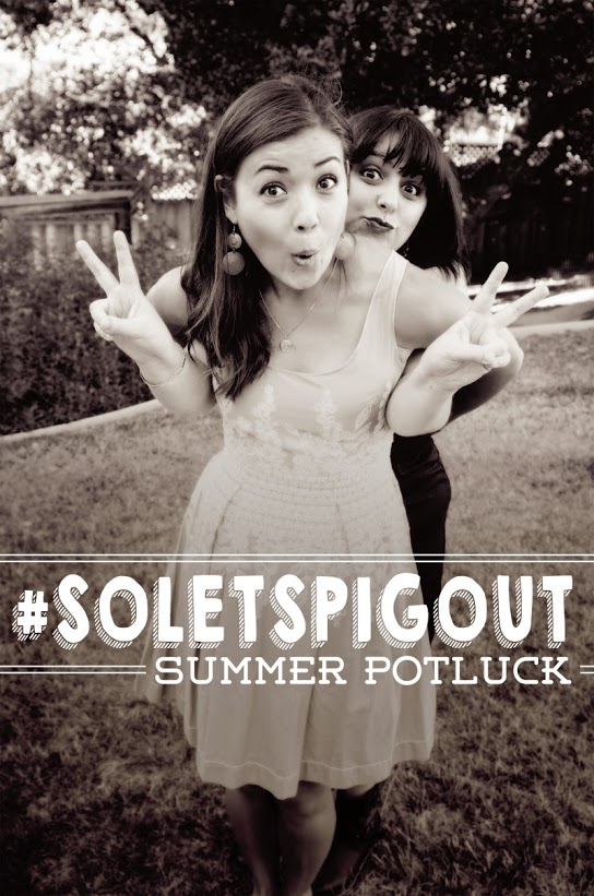 #SoLetsPigOut Summer Potluck! FOOD + FUN + PRIZES!